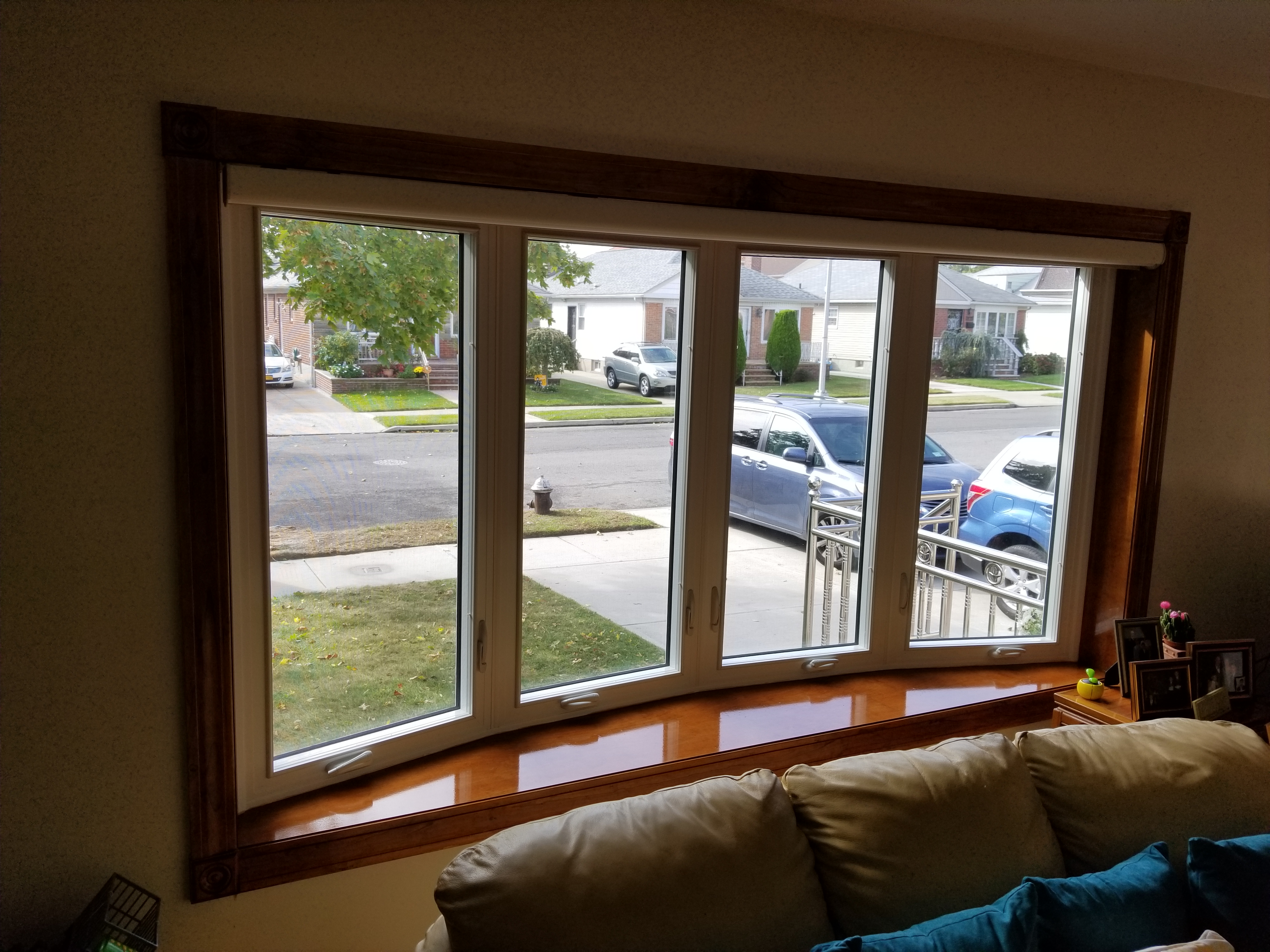Bow Window Replacement Bayside New York Major Homes