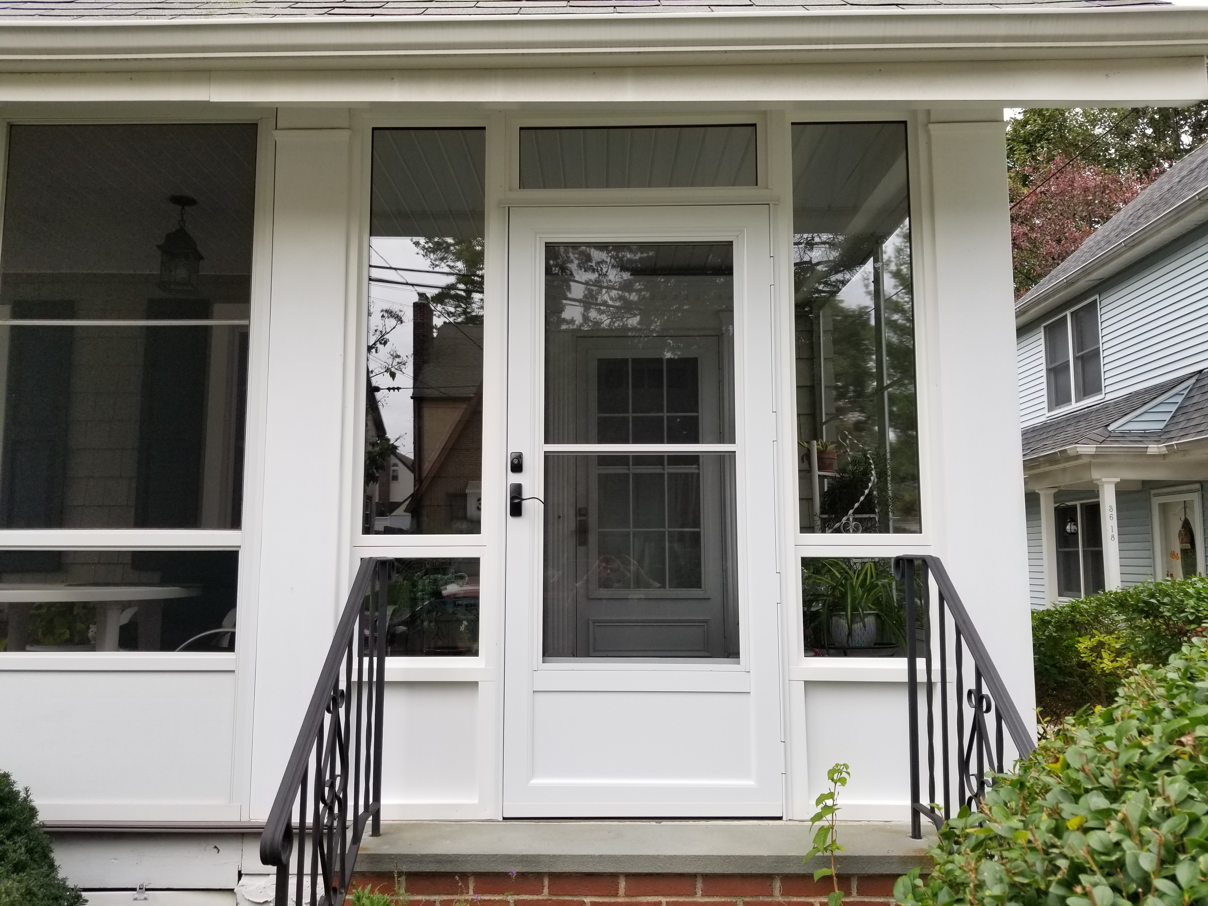 Porch Door And Window Replacement Bayside Ny Major Homes